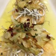 bacalado con gulas y ajos tiernos-apat-comida para llevar-vilafranca-vilanova-santsadurni
