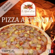 caja pizza SABORES